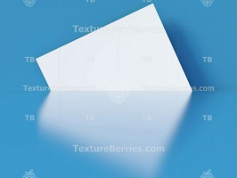 Blue abstract background with white paper