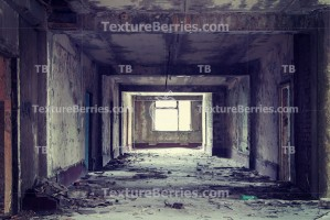 Inside abandoned building, lighting window