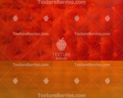 Red velvet capitone textile background and wooden table for product display
